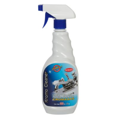 Spray limpiador de superficies cromadas 650ml