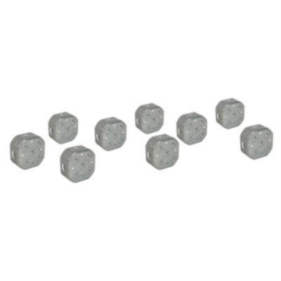 Pack X 9 Caja Octogonal Pesada Jormen