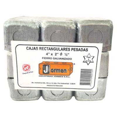 Pack X 9 Caja Rectangular Pesada Jormen