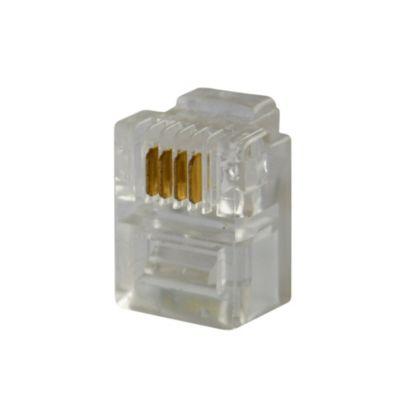 Plug RJ-11 x4