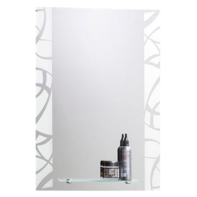 Espejo Rectangular con Repisa 70x50cm