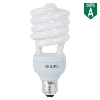 Foco Ahorrador Mini Espiral E27 27W Luz Blanca