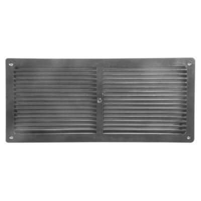 Rejilla para Ventilación Negro 100x120mm