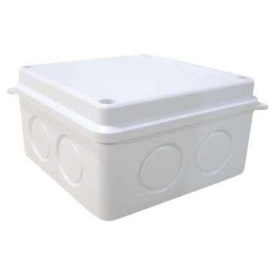 Caja De Pase Adosable 100 X 100 X 70mm Pvc Volt
