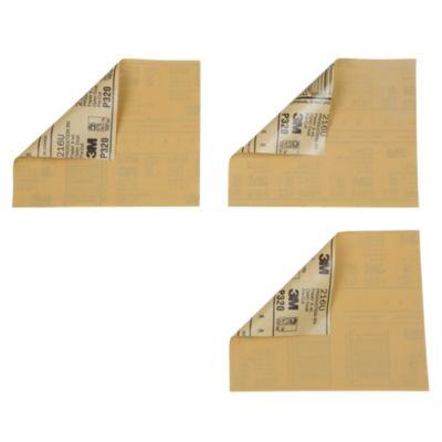 Pack x 3 lijas de metal # 320