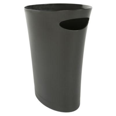 Tacho de plástico negro 7.5 L