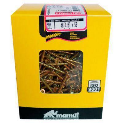 Pack x500 Tornillos 4x50mm