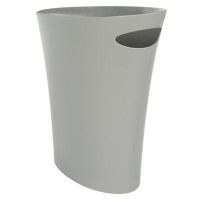 Tacho de plástico plata 7.5 L
