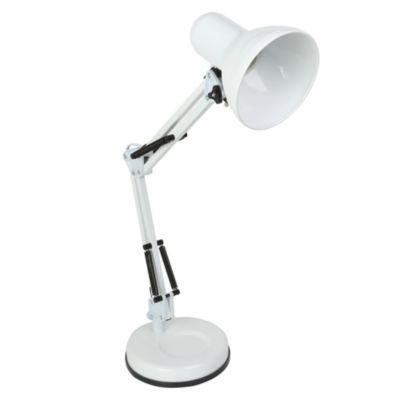 Lámpara de escritorio Arqy luz blanca