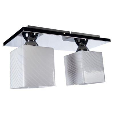 Lámpara de Techo Decorativa 2 Luces 60W