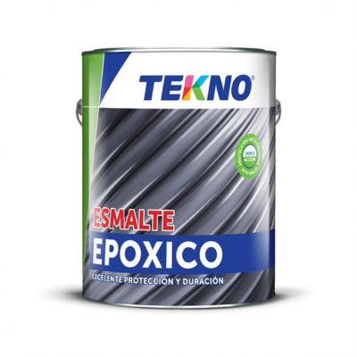 Esmalte Epoxi Tekno Negro 1 Galón