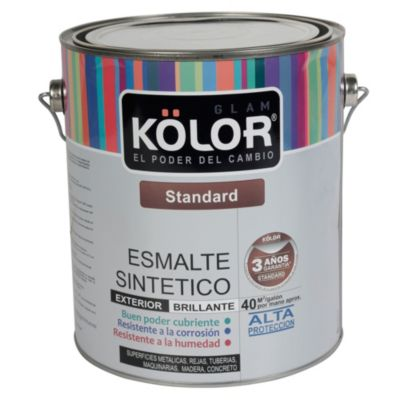 Esmalte Standard Rojo Oxidado Brillante 1gl