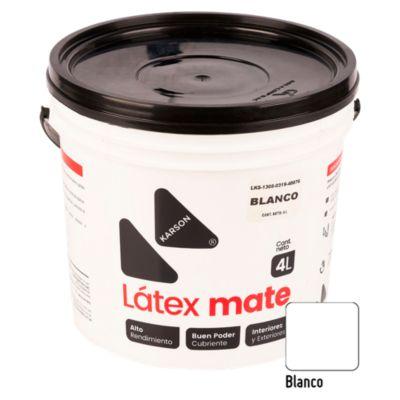 Pintura Látex Blanco de 4L