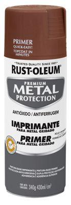 Aerosol  protector de superfices metalicas, Metal Protection Imprimante Metal Oxidado 340 Gr