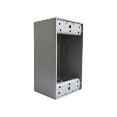 "Caja Condulet Rectangular 4 X 2"" Volt"
