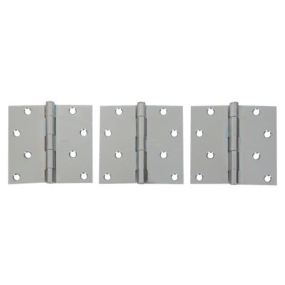 Bisagra de Acero 4x4'' x 3 Unidades