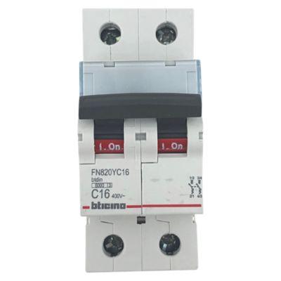 Interruptor Termomagnético 2x16A Bticino