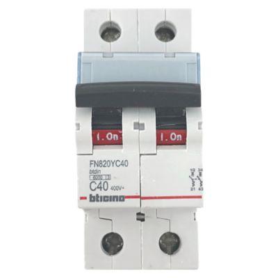 Interruptor Tipo Riel Bifásico 40A