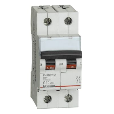Interruptor Termomagnético 2x50A Bticino