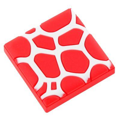 Tirador Perilla 45 mm Huellas Rojo