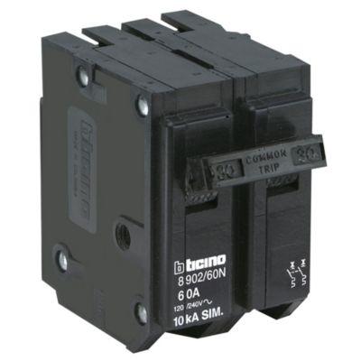 Interruptor Termomagnético 2x60A Bticino