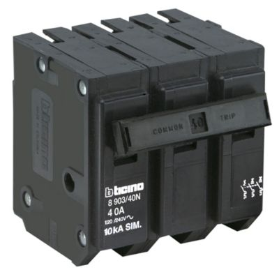Interruptor Termomagnético 3x40A Bticino