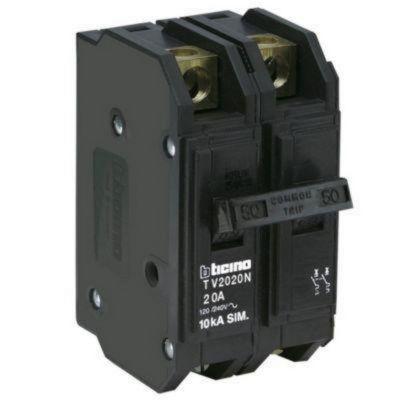 Interruptor Termomagnético 2X20A Bticino