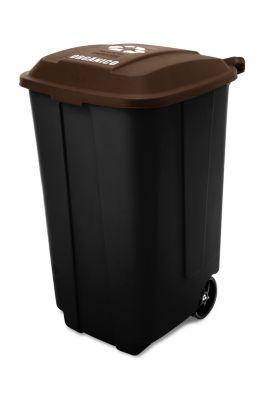 Tacho recolector de residuos orgánicos 170 L