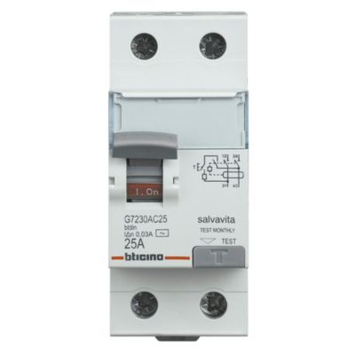 Interruptor Diferencial 2x25A Bticino