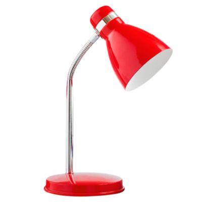Lámpara de Escritorio Roja