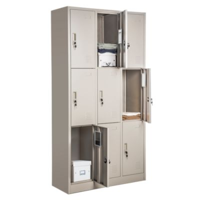 Locker 9 casilleros de metal