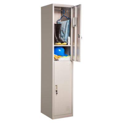 Locker 2 casilleros de metal
