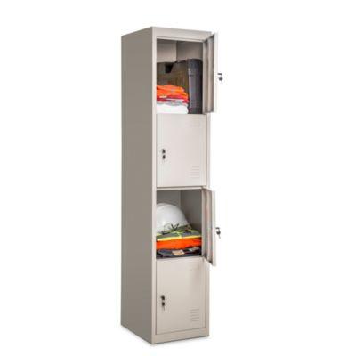 Locker 4 casilleros de metal