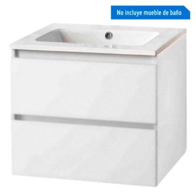 Lavatorio para Mueble 60.5x46x10cm Blanco