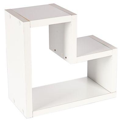 Repisa en Forma de L 38 x 41 cm Blanco
