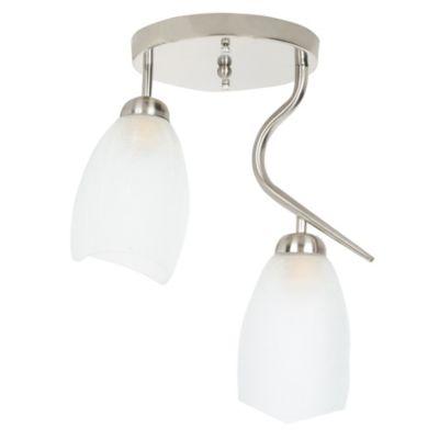 Lámpara colgante Clarisse 2 luces