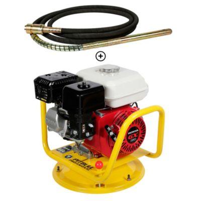 Combo Vibrador de Concreto 5.5 HP Motor Honda GX160 Pitbull + Manguera Vibradora 38 mm Producto Exclusivo