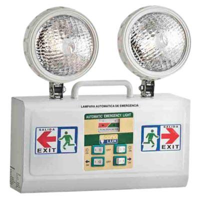 Lámpara de Emergencia 2x6V