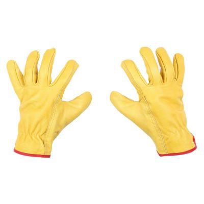 Guantes de Cuero Golden Amarillo