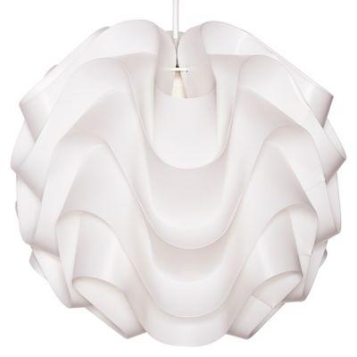 Lámpara colgante Lady 1LZ 33cm blanca