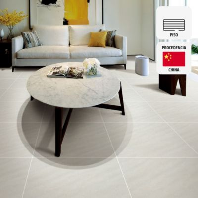 Gres Porcelánico Piedra Gris Rústico 60x60 cm para piso