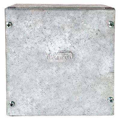 Caja De Pase 150 X 150 X 80mm Jormen