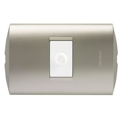 Dimmer Resistivo Modus Style Perla Blanco