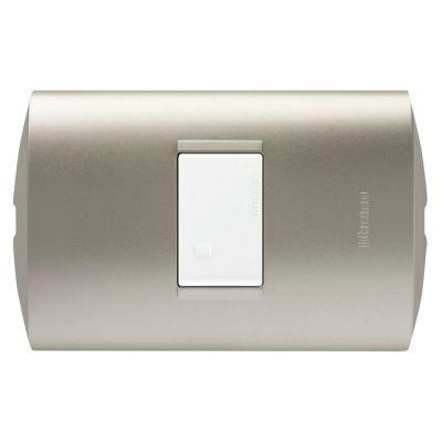 Interruptor Simple Modus Style Perla