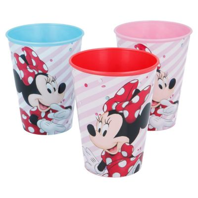 Set x3 vasos Minnie