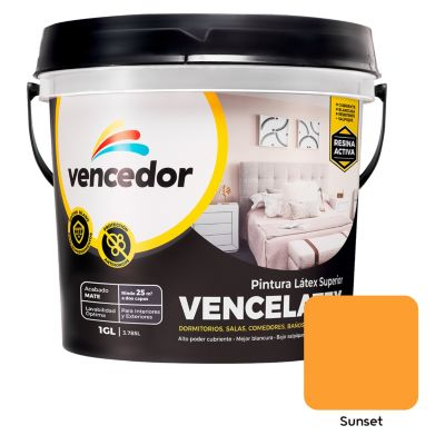 Látex Vencelatex Sunset 4 L