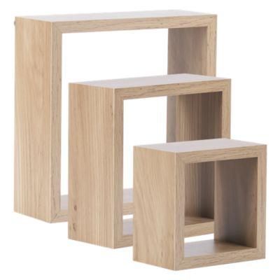 Set de 3 Cubos Haya