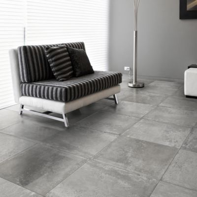 Gres Porcelanico Concreto Gris Rústico 60x60cm para piso o pared