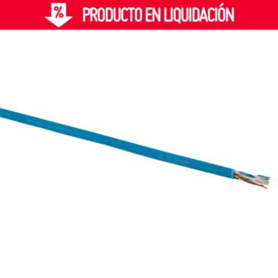 Cable Data UTP 10 AWG Turquesa