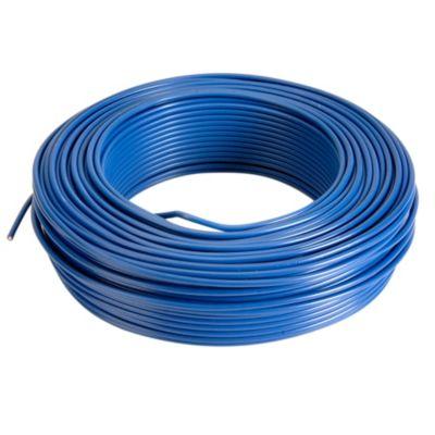 Alambre TW 10 AWG Azul x 100 m